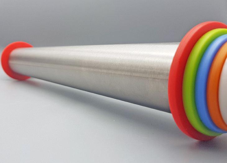 Nach 3 Monaten Dauertest: 100%-Empfehlung für den Edelstahl-Teigroller von Fixget