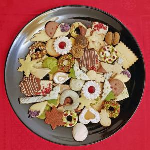 Weihnachtsplätzchen konfektioneren und präsentieren