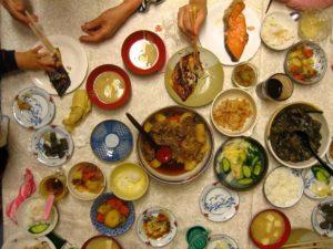 Lob des japanischen Abendessens