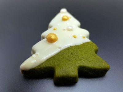 Weihnachtsplätzchen mit Matcha - die Matcha-Tanne