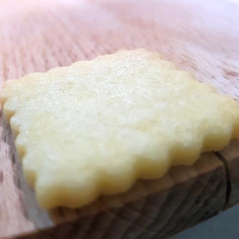 Weihnachtsplätzchen mit Silpain - glatte Oberfläche