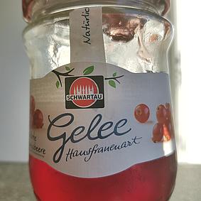 Schwartau: Roter Johannisbeer-Gelee
