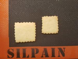 """Schönere Plätzchen mit der luftdurchlässigen Silikon-Backmatte """"Silpain"""". Ein Praxisbericht"""