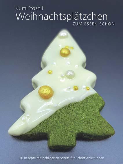 Weihnachtsplätzchen - zum Essen schön. Von Kumi Yoshii
