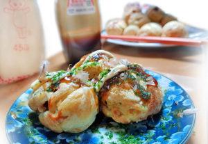 Takoyaki zu Hause