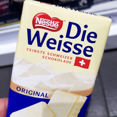 Die Weisse von Nestle