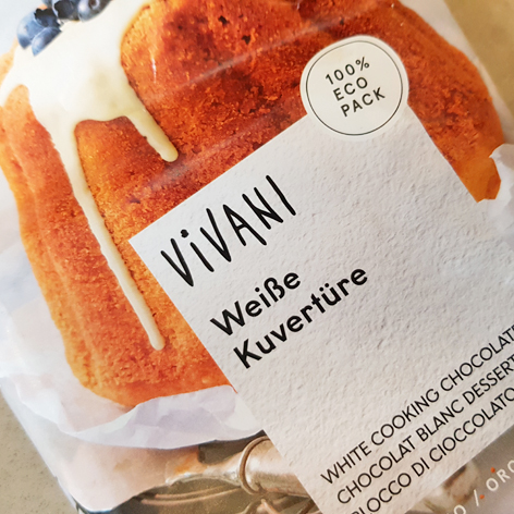 Vivani - weiße Kuvertüre