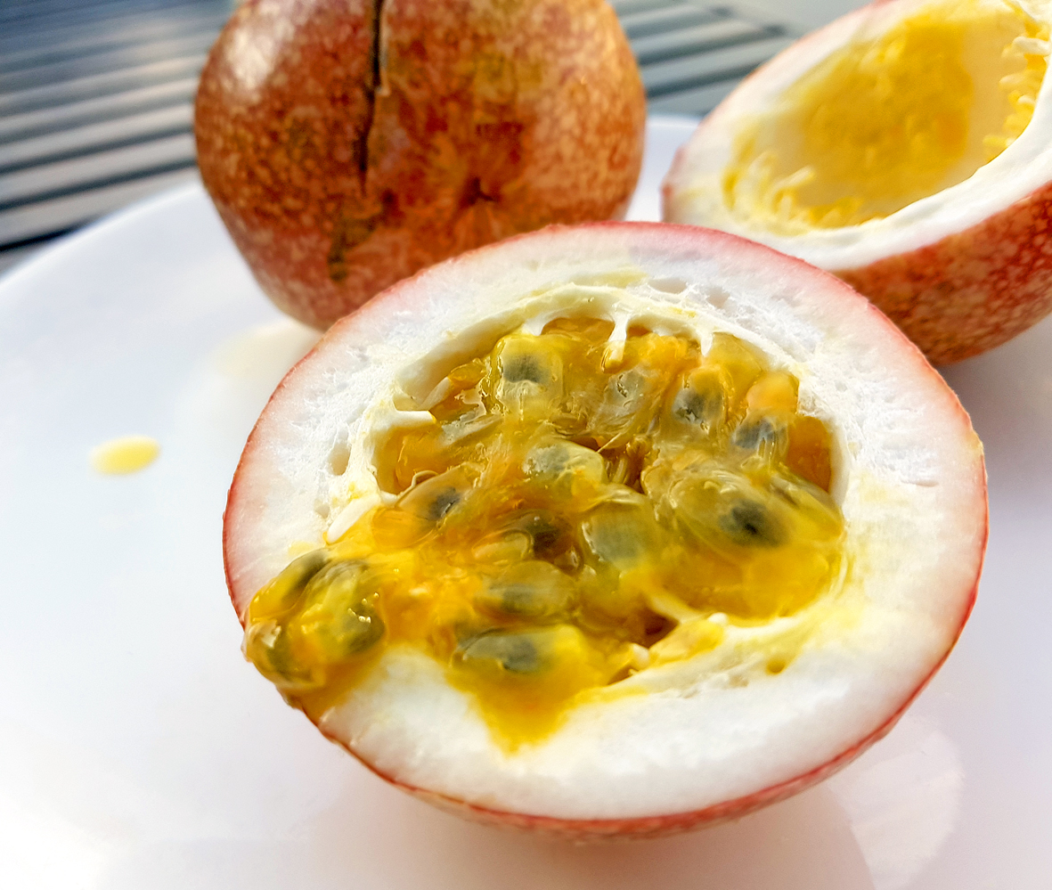 Passionsfrucht - auch Maracuja genannt