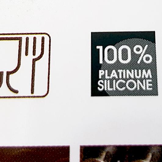 Silikonmatte für Macarons von Pavoni besteht aus Platin-Silikon