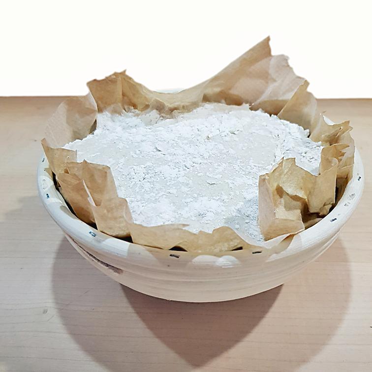Brot ohne Kneten mit Lievito Madre