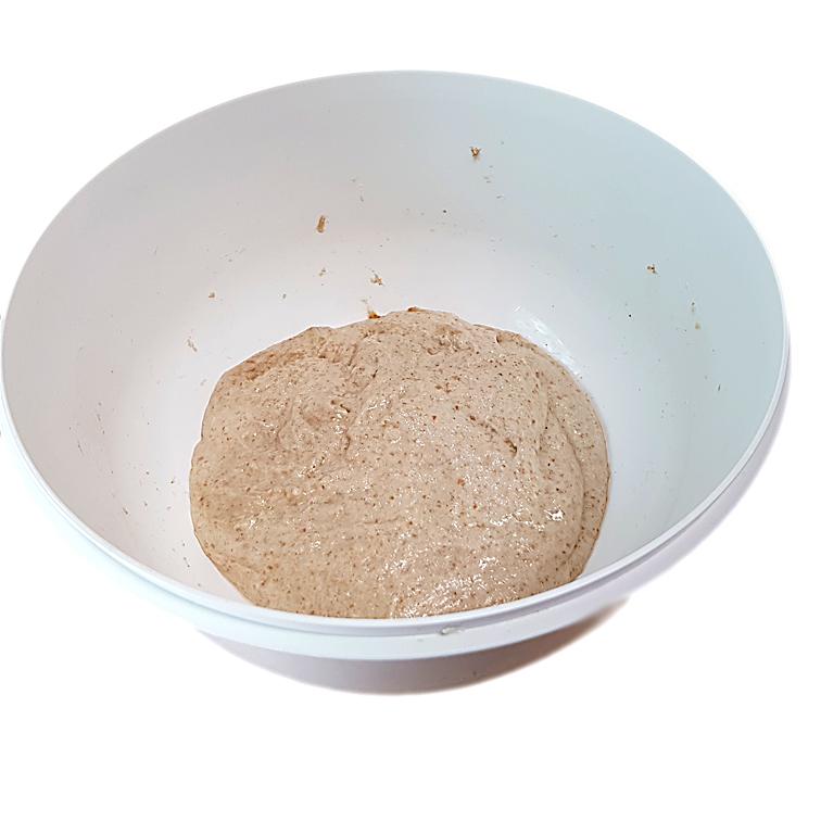 Brot mit Lievito Madre - Autolyse statt Kneten