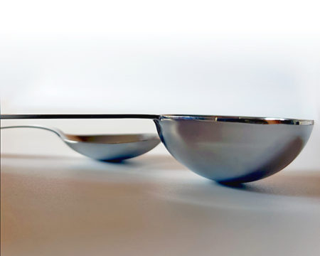 Esslöffel (15ml) und Teelöffel (5 ml) sind international normierte Volumeneinheiten