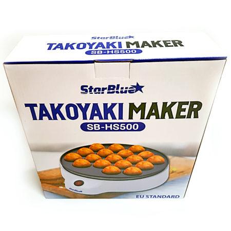 Takoyaki Maker kam in einer stabilen Schachtel