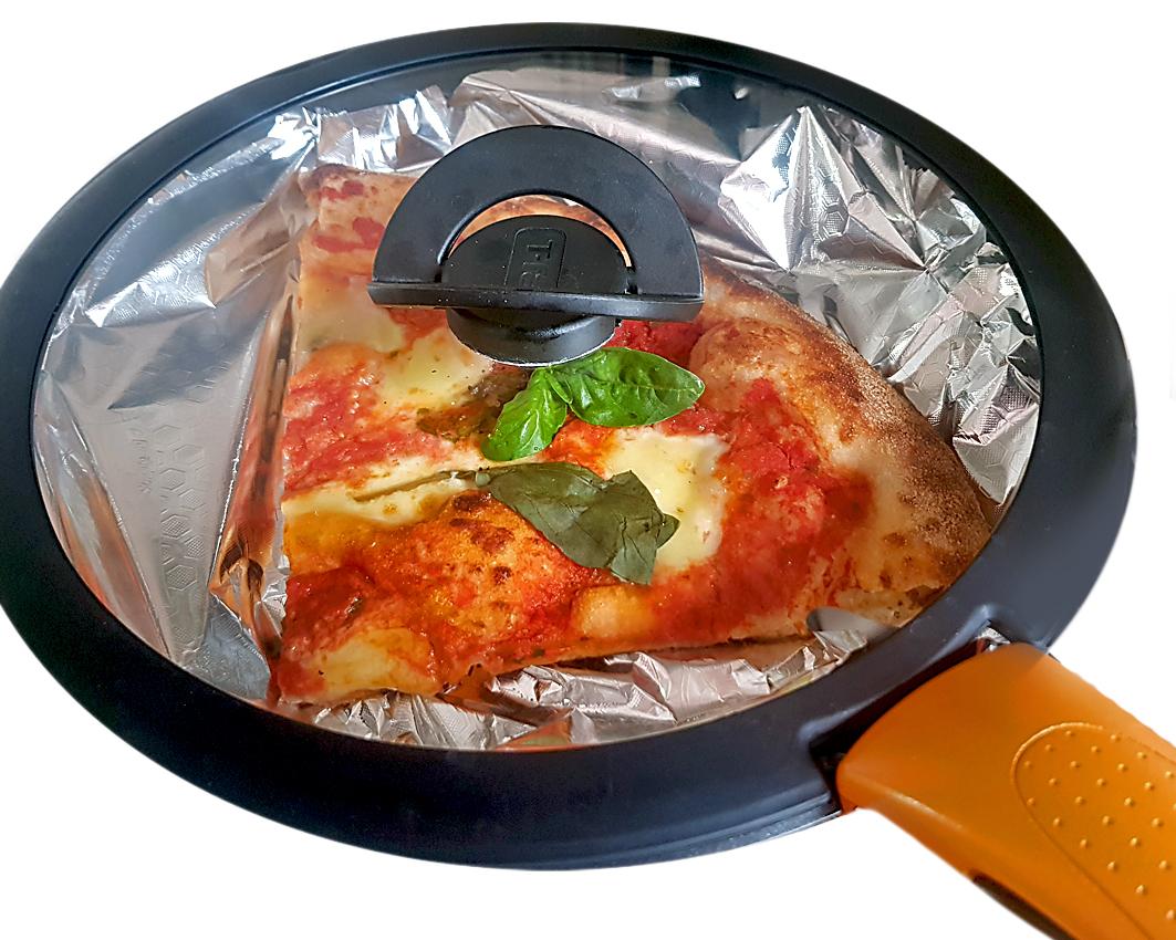 Wie wärmt man eine Pizza richtig auf?