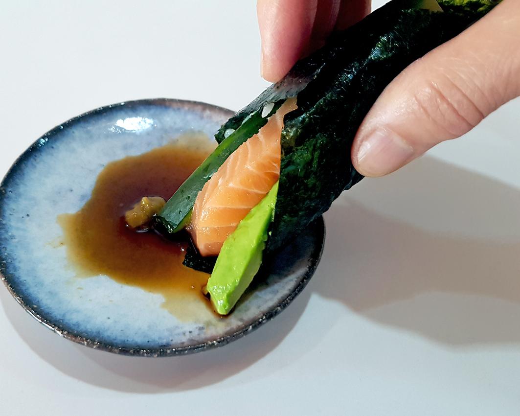 Temaki-Sushi: Sushi in Gesellschaft lässig und entspannt selber rollen