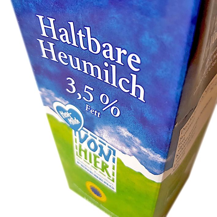 Haltbare Heumilch