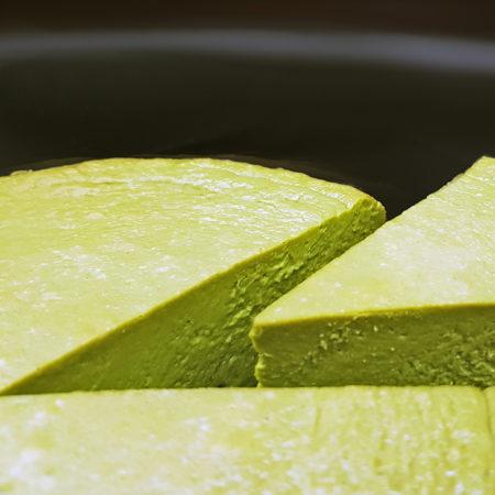 Matcha-Käsekuchen