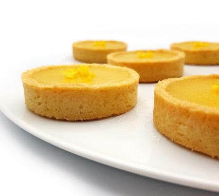 Yuzu-Tarteletten (aus meinem Buch