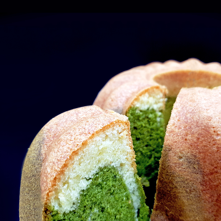 Matcha-Marmorkuchen