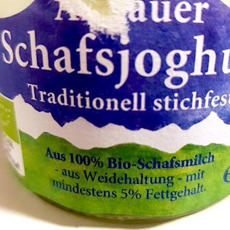 Allgäuer Schafjoghurt